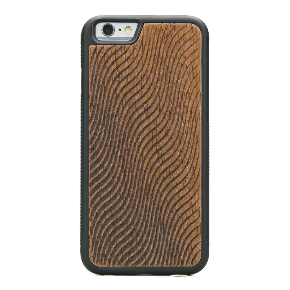5146202e88d7 Apple iPhone 6 Plus   6s Plus Waves Merbau Wood Case