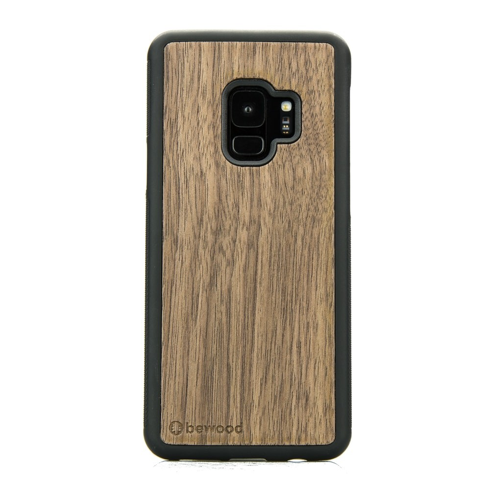 official photos 9fca2 00945 Samsung Galaxy S9 American Walnut Wood Case