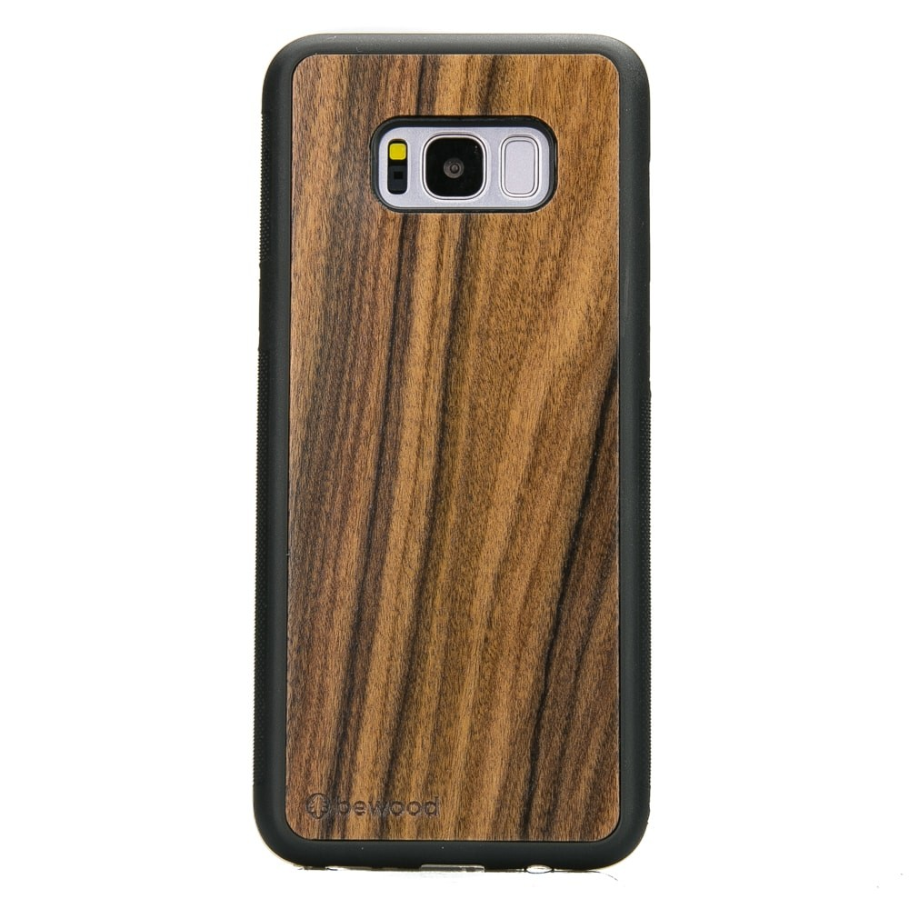quality design e346d b8398 Samsung Galaxy S8+ Rosewood Santos Wood Case