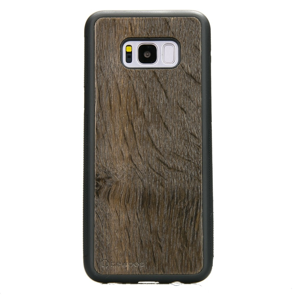 huge discount 50685 bd2b4 Samsung Galaxy S8+ Dark Walnut Wood Case