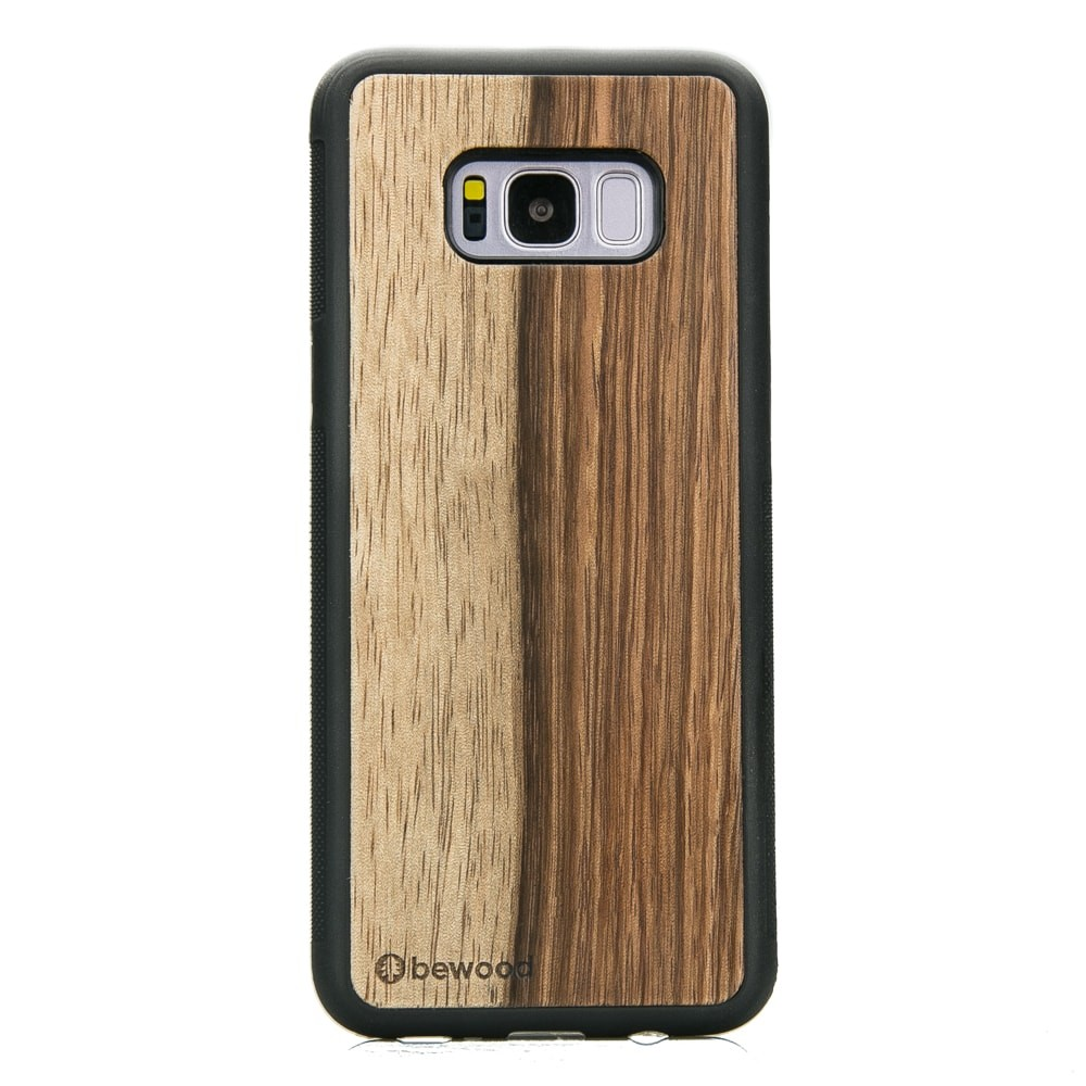 timeless design 11f16 f1077 Samsung Galaxy S8+ Mango Wood Case