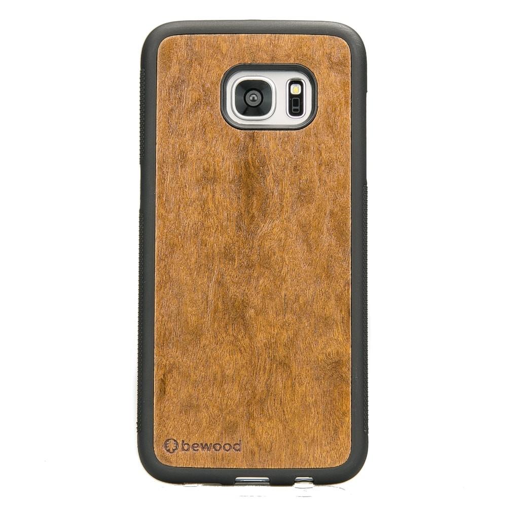 super popular 30938 0a8da Samsung Galaxy S7 Edge Imbuia Wood Case