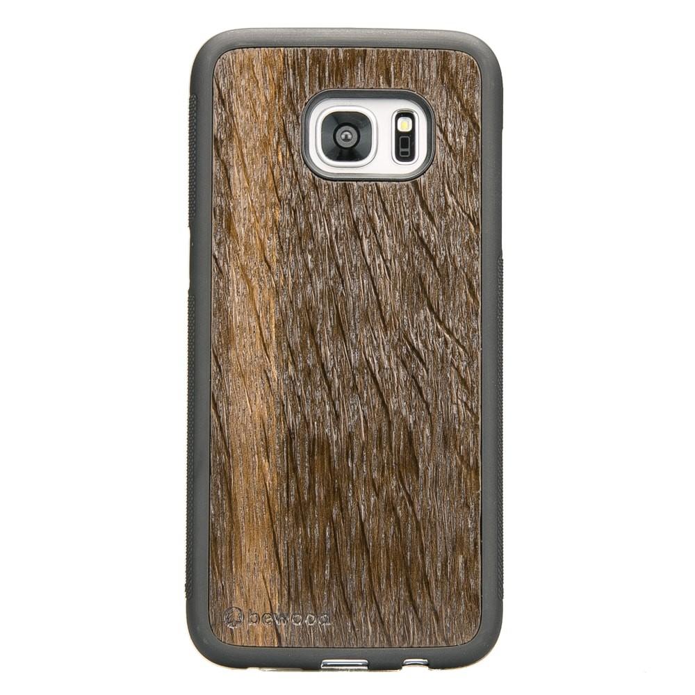 new arrival 5c05d e0f45 Samsung Galaxy S7 Edge Smoked Oak Wood Case