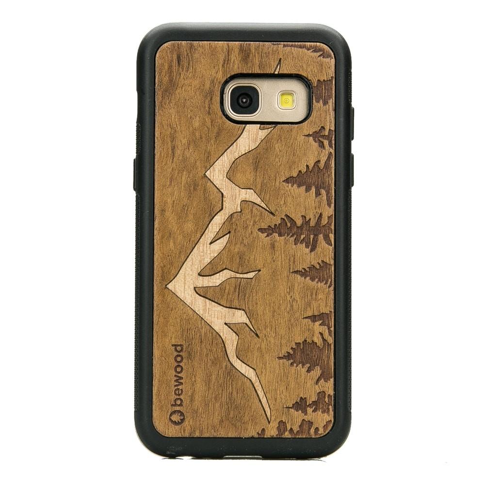 9c48af0d6c36 Samsung Galaxy A3 2017 Mountains Imbuia Wood Case