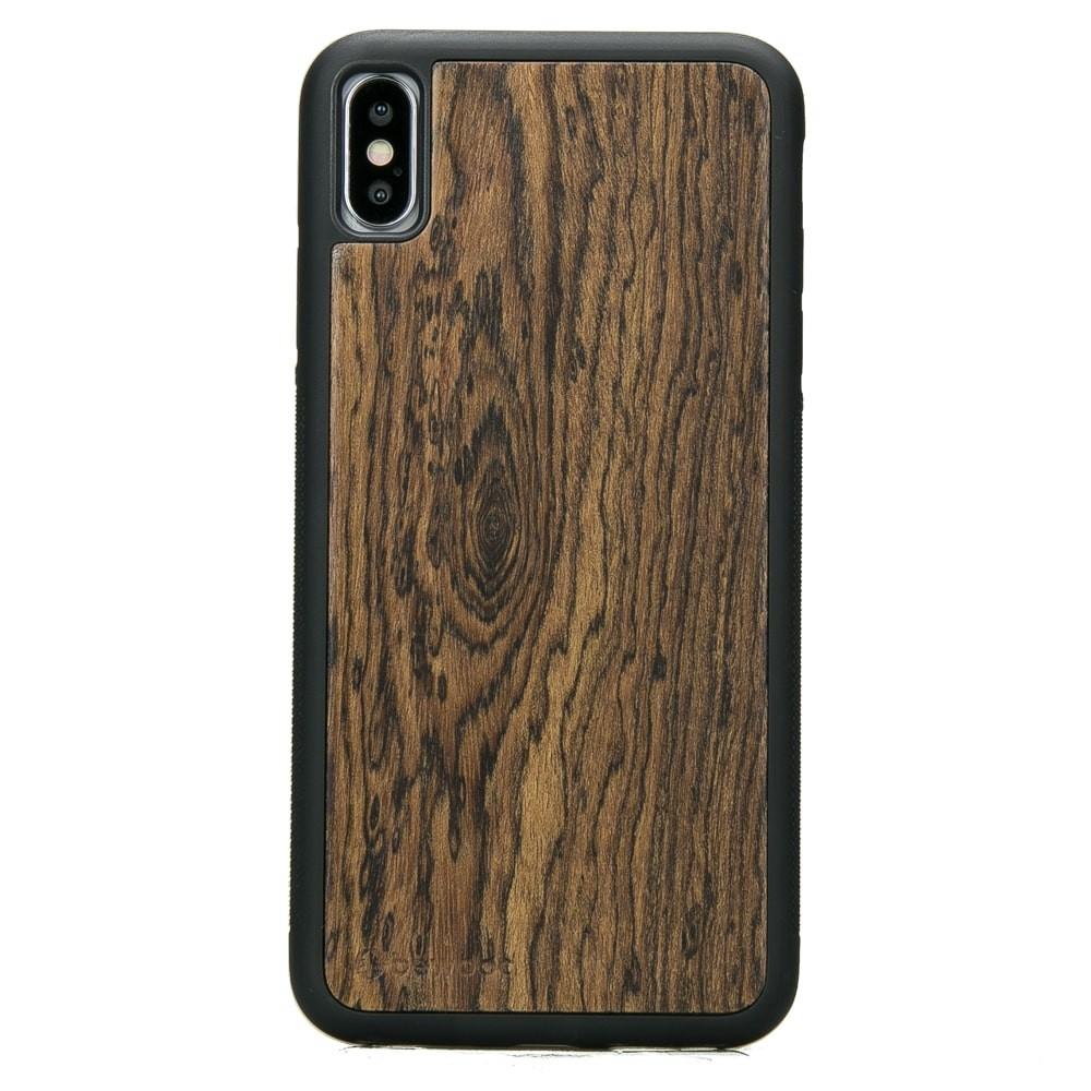 outlet store bd451 7c957 Apple iPhone XS MAX Bocote Wood Case
