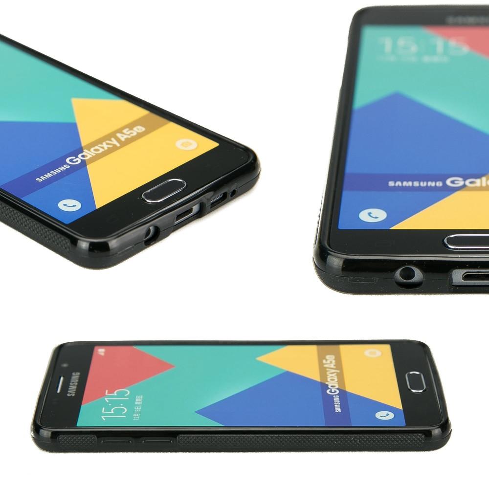 Samsung Galaxy A5 2016 Compass Merbau Wood Case
