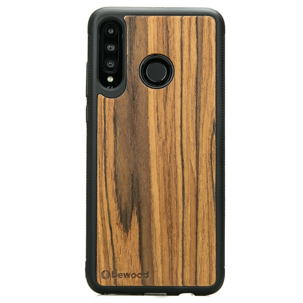 super popular e1f6d 0db3f Huawei P30 Lite Olive Wood Case