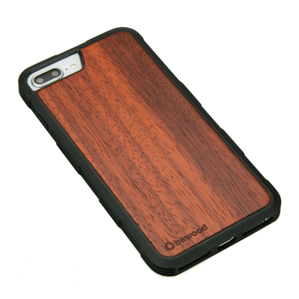 Drewniane Etui Apple iPhone 6/6s/7/8 Plus PADOUK HEAVY