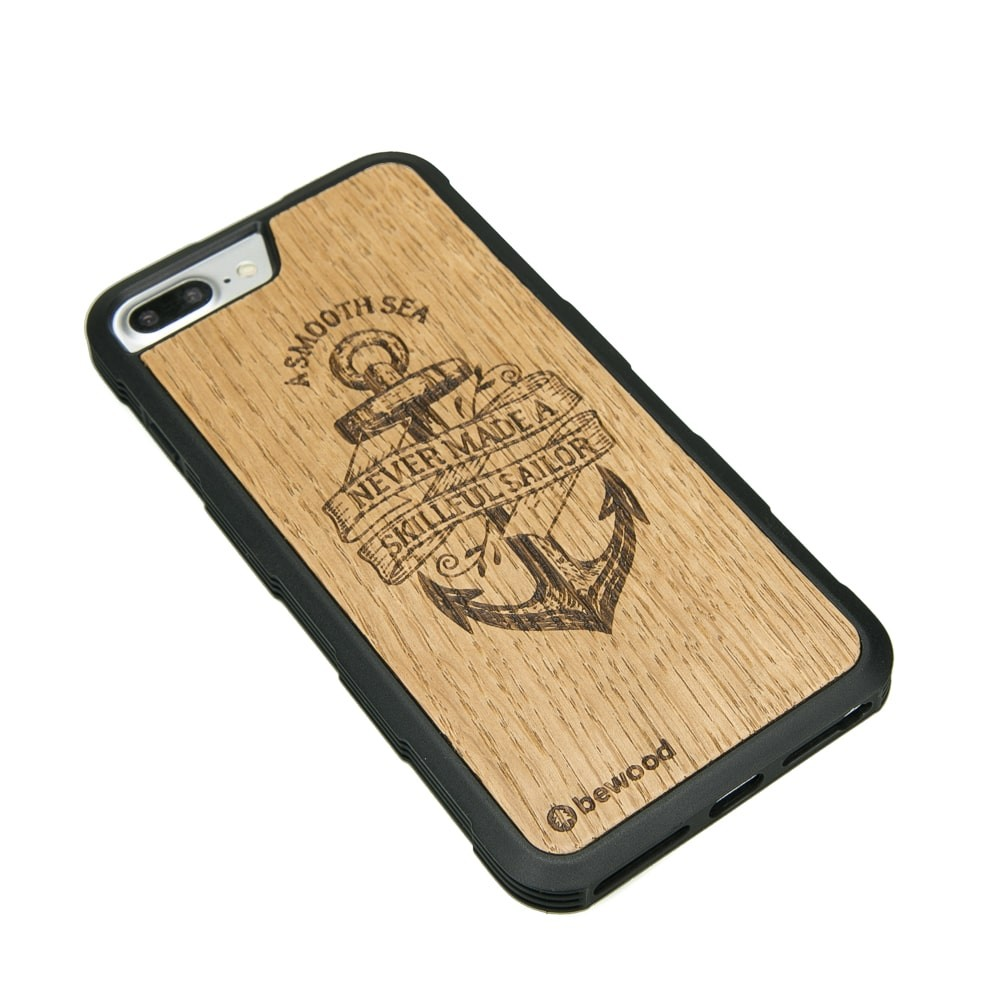 Drewniane Etui Apple iPhone 6/6s/7/8 Plus KOTWICA DĄB HEAVY