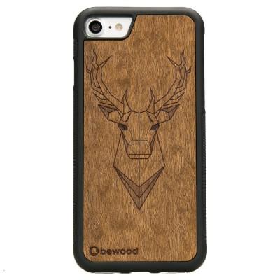 6efb9e804360 Drewniane Etui Apple iPhone 7 8 JELEŃ IMBUIA